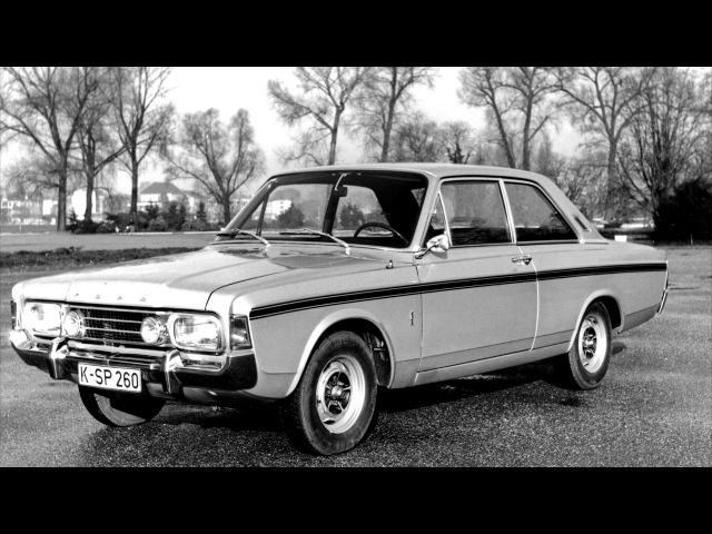 Ford Taunus 17M RS Coupe P7b 1968 71