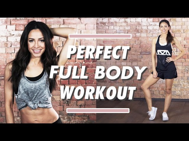 FAT BURNING TONING Full Body Perfect Workout | Danielle Peazer Compilation