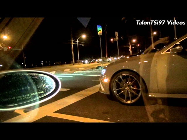 APR Audi RS7 calls out 997 Turbo Porsche from a dig!