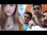 Saudi Arab boys and American girl funny Vodeo 2016 On Skype chat must watch