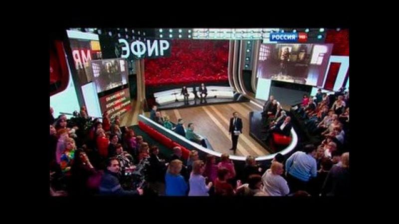 Чудо в ток-шоу Прямой эфир на второй минуте