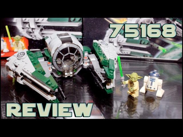 Lego Star Wars 75168 Yoda's Jedi Starfighter Review