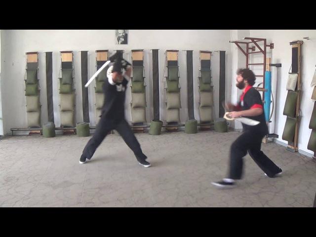 Armenian Wing Tsun (Винг Чун), Bart Cham Dao (Мечи Бабочки), Katana, Master Hovhannes Musheghyan