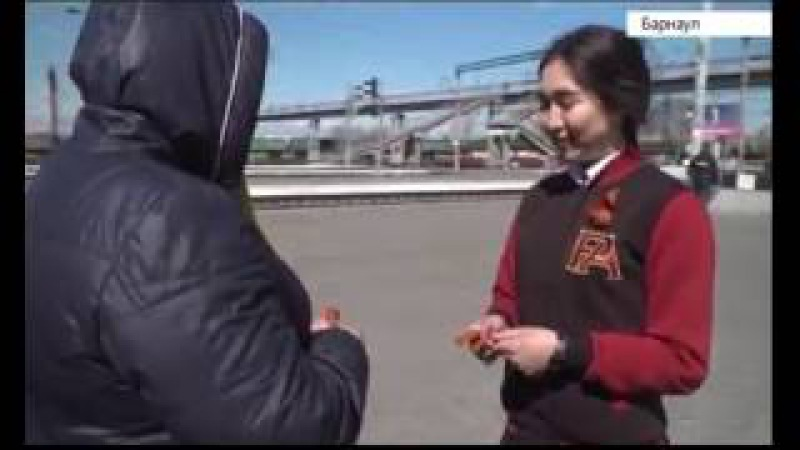 Съемки программы «Спасибо за победу» прошли на железнодорожном вокзале Барнаула