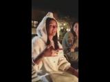 Нина Добрев на Дне Рождения Лорен Пол 8 и 9 декабря 2016 года.