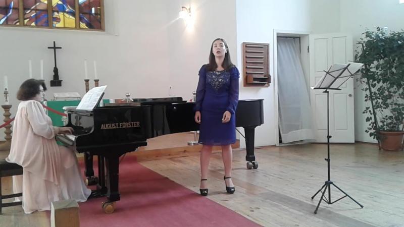 Ария Иоланты исполняет Диана Гуляева