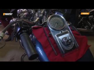 Харьковчанин собрал уникальную коллекцию Harley.