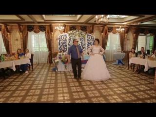 Танец с любимым папочкой💜💙❤️