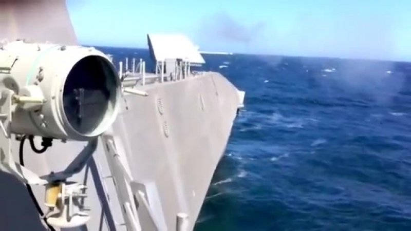 NAVSEA USS Independence LCS 2 57mm Main Gun Живая Обжиг 480p