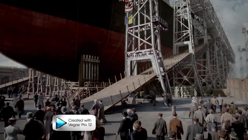 Титаник спуск на воду. Титаник кровь и сталь.