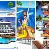 Cruises.Круизы.Континенты, острова и кругосветка