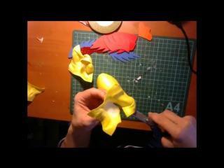 Подарок!!! Видео МК Петух подвеска из фоамирана