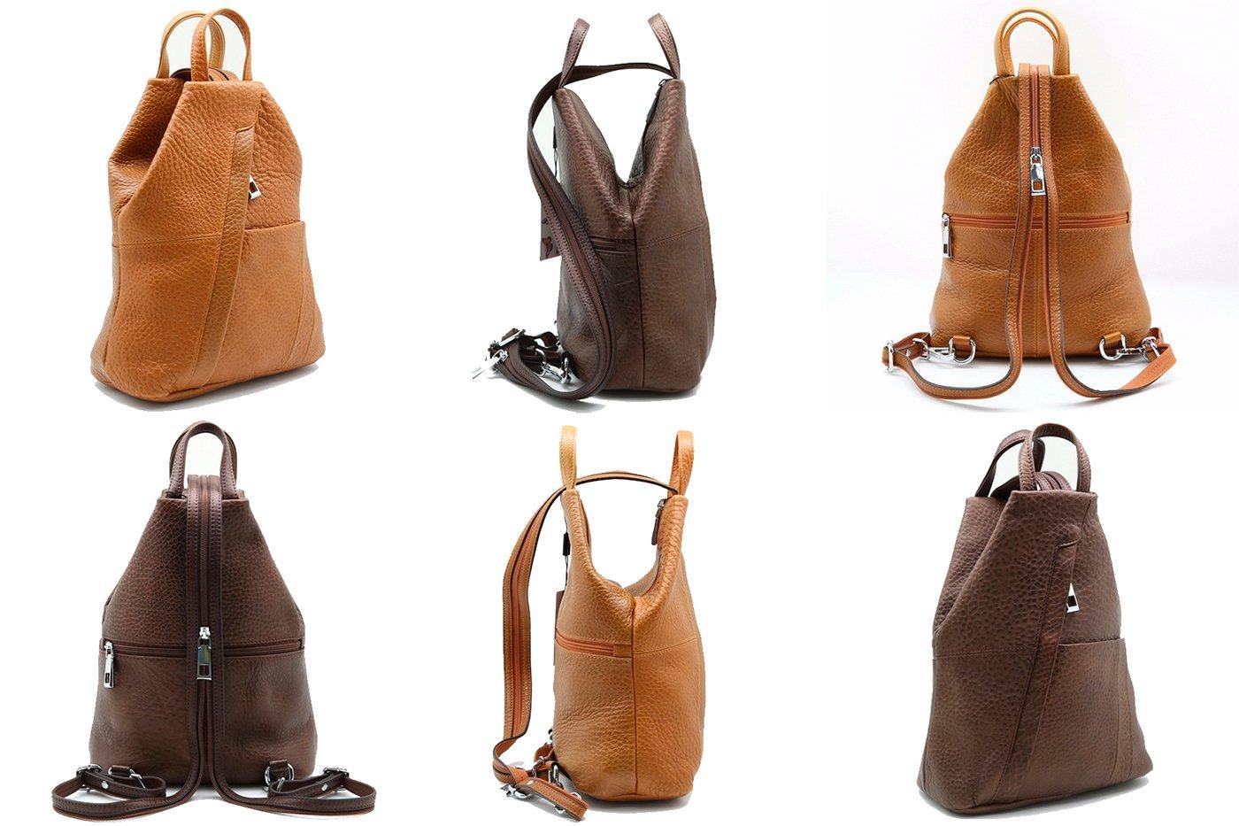 7e6f71020145 Кожаные рюкзаки женские Sergio Valentini СА 7022