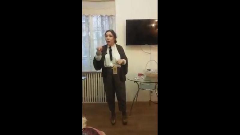 Наталья Гранковская о новой туши