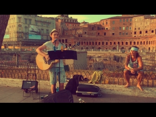 Wonderwall - Oasis cover live in Roma )))