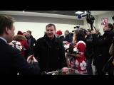 Болельщики встретили молодёжную сборную России после МЧМ-2017