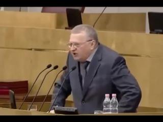 Жириновский про Единую Россию