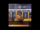 Речь Криштиану Роналду в раздевалке сборной Португалии после победы на Евро 2016