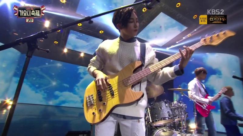 161229 KBS 2TV 2016 가요대축제 2부 세븐틴(SEVENTEEN) - [Present For 청춘] 나는 나비 (도겸민규디에잇세븐틴밴드 With 97라인) by 로즈베이
