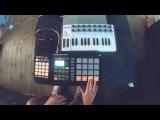 Dj Allya - Maschine studio session ( Sam Feldt - Show Me Love Remake )