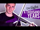A Thousand Years (Violin Cover by Robert Mendoza) [from Twilight Saga - Breaking Dawn pt.1]