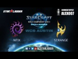WCS Challenger Open Cup Nitix (Z) vs Strange (P)