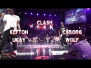 Kefton Ukay VS Cyborg Wolf | step 1 CLASH | Fusion concept 2016