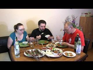 Американцы пробуют Русскую еду - часть 1