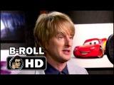 CARS 3 Voice Cast B-Roll Footage ft. Owen Wilson Lightning McQueen Pixar Movie (2017)