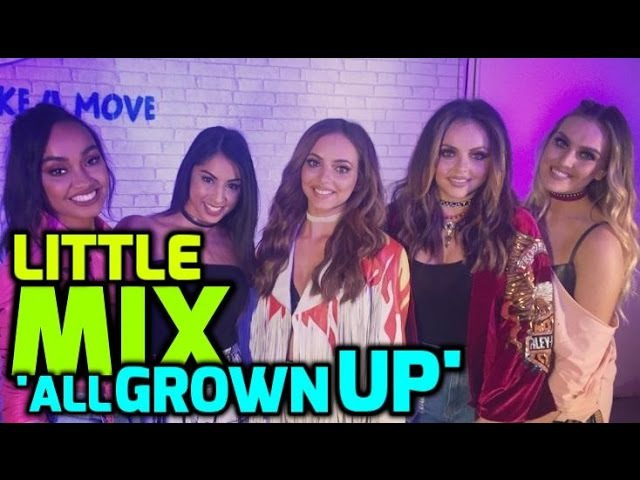 EXCLUSIVE CHAT Little Mix talk LM4, the new book and having the hots for Rihanna and Margot Robbie!