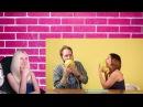 РЕАКЦИЯ Порноактрисы учат парней делать кунилингус Popcorn Studio