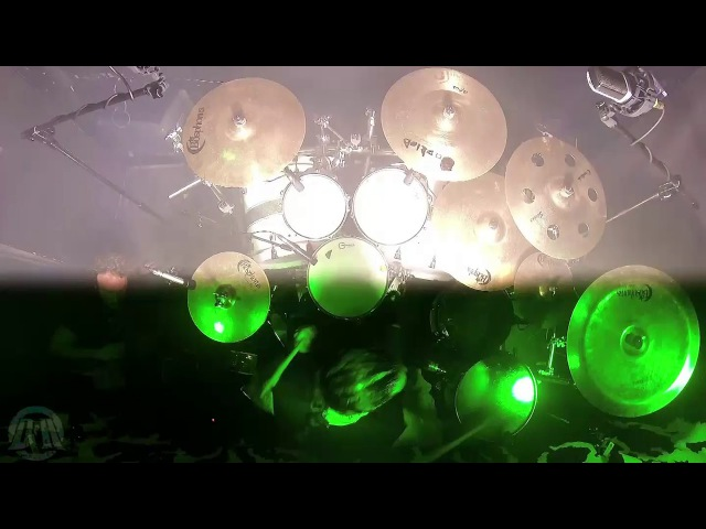 ROTTING CHRIST@In Yumen / Xibalba-Themis Tolis-Live in Poland 2017 (Drum Cam)