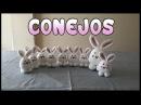 Conejos a crochet