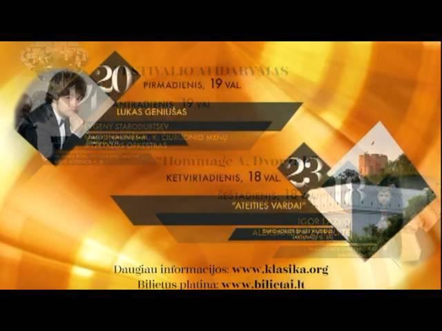 III M.K.Čiurlionio muzikos festivalis kviečia