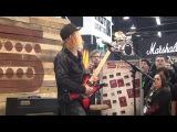 Akira Takasaki Demo at Seymour Duncan Booth at NAMM 2016 on 1222016