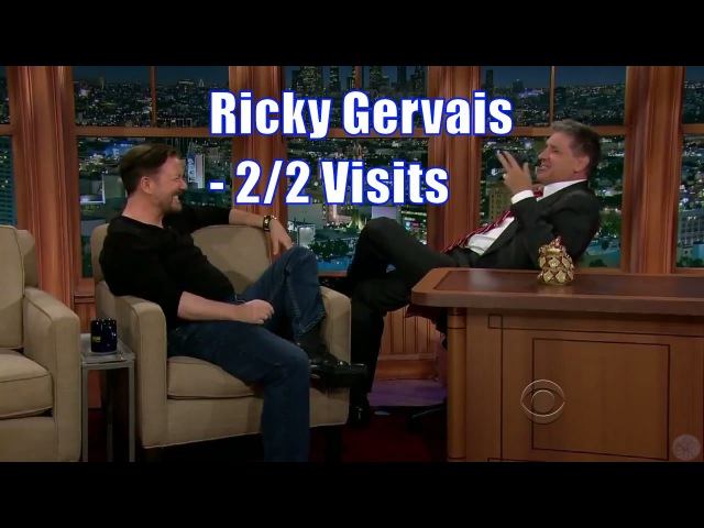 Ricky Gervais - This Might Be The Best Chat show Ever! - 2/2 Visits In Chron. Order [720p]