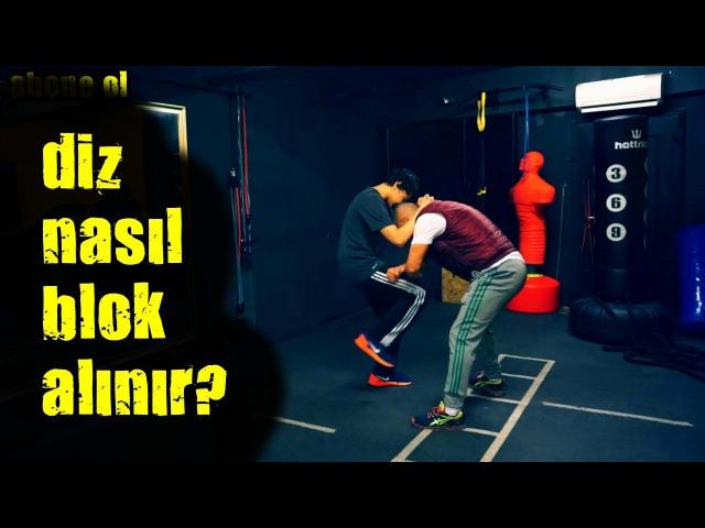 Diz nasıl blok alınır ? | kickboks | dövüş sanatları | self defans