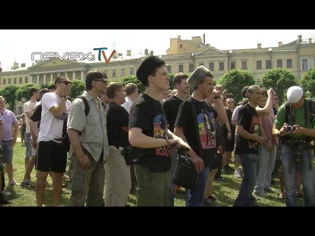 Кровь и Песок - Побитый гей-прайд в Питере 29.06.2013