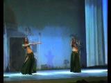 Восточный танец. Дуэт