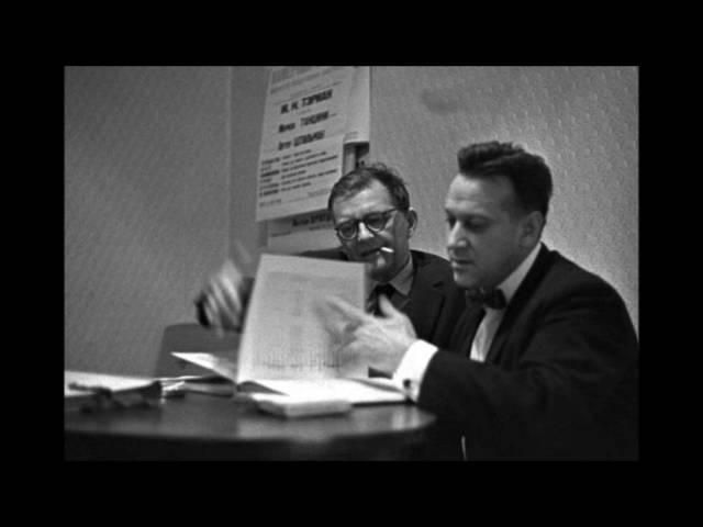 Shostakovich - The Execution of Stepan Razin - Moscow / Kondrashin