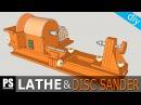Homemade Lathe Disc Sander Part1