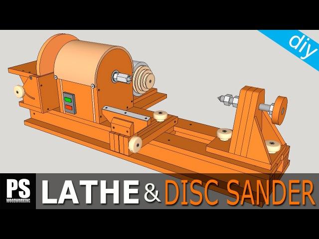 Homemade Lathe Disc Sander Part1 » Freewka.com - Смотреть онлайн в хорощем качестве