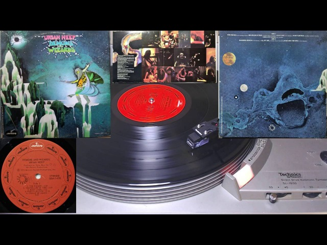 Mace Plays Vinyl - Uriah Heep - Demons and Wizards - Full Album