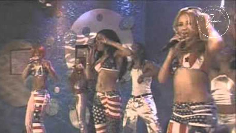 Destiny's Child - Bootylicious (MTV TRL) [2002]