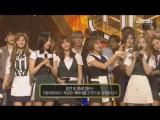 170528 Twice занимают первое место на Inkigayo и получают свою пятую награду с Signal.