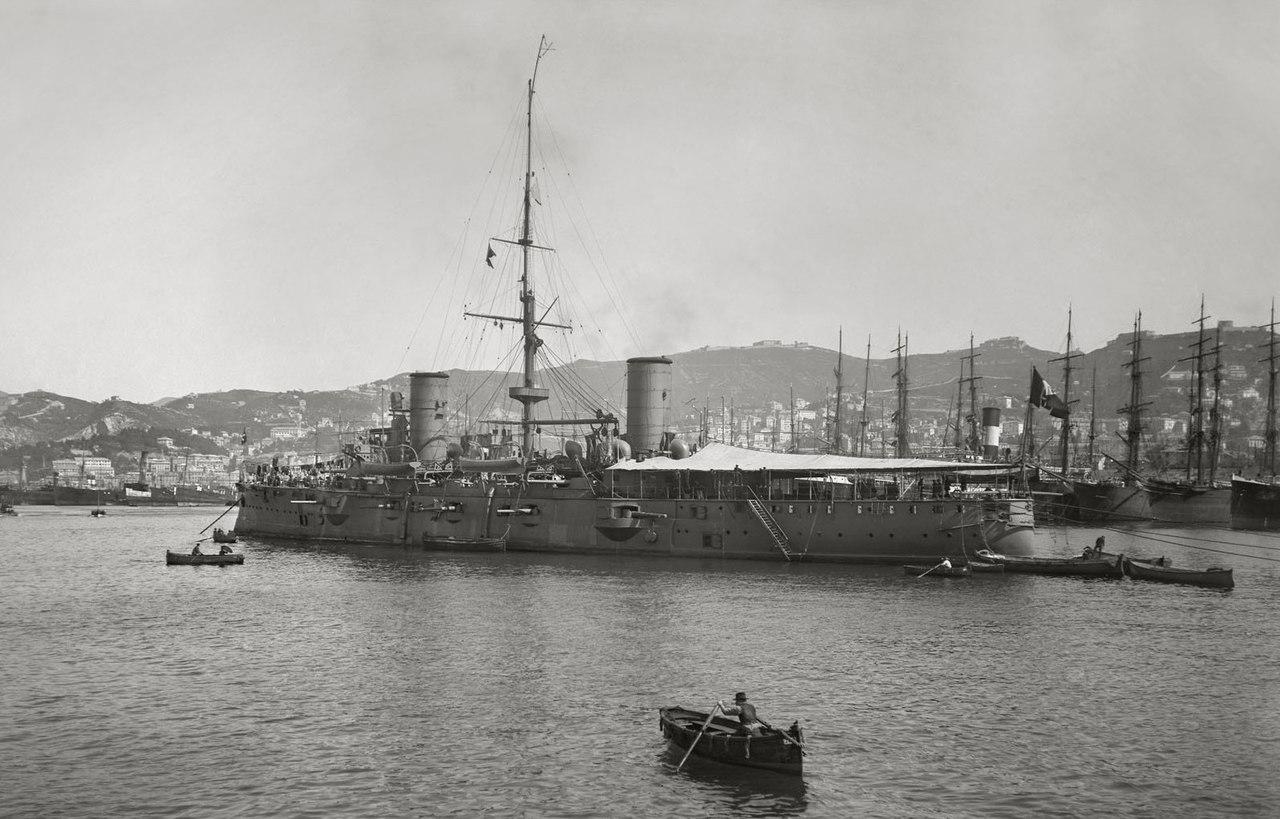 Броненосный крейсер Джузеппе Гарибальди