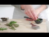 Joseph Joseph Flavor Infusing Spoon with Herb Stripper