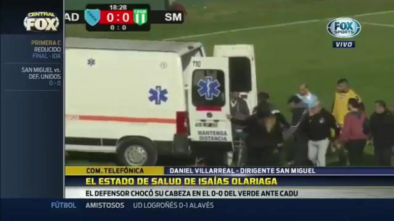 В Аргентине судья спас жизнь игроку во время матча