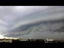 УФА Башкирия . ураган \ гроза .шторм Shelf Cloud 22 июня 2017