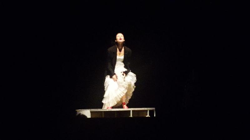 13 05 2017 Театр имени Ленсовета МАКБЕТ КИНО Финальный танец леди Макбет Лаура Пицхелаури